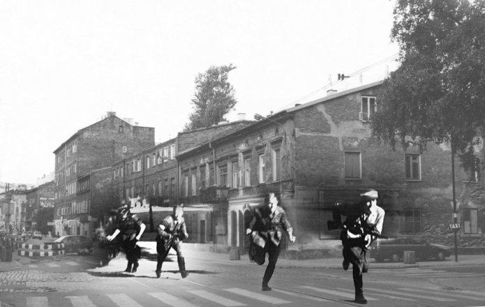 Zdobycie Past-y 1 sierpnia 1944 r.