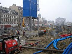 Budowa metra na Pradze