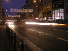 Iluminacja na ulicy Ząbkowskiej