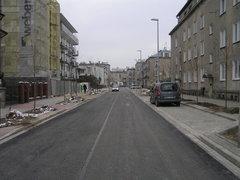 Ulica Osiecka po przebudowie