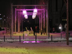 Plac Szembeka wnocy