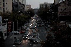 Korek na ulicy Radzymińskiej, fot. B. Sztabowski
