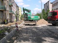 Remont ulicy na Pradze