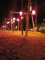 Plac Szembeka nocą