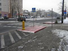 Grochowska/Sennicka - przejście dla pieszych