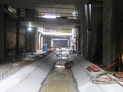Budowa stacji C14 Stadion