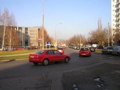 Ulica Poligonowa na Gocławiu