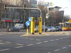 Superradar na skrzyżowaniu Ostrobramskiej iFieldorfa