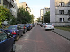 Ulica Kameralna na Osiedlu Praga I