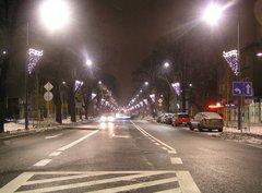 Ulica Francuska - iluminacje w2010 roku