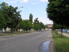 Ulica Markowska do remontu