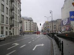 Pusta ulica Ząbkowska