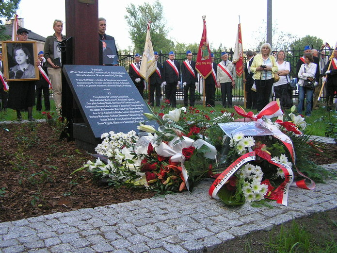 Tablica pamięci ofiar katastrofy smoleńskiej