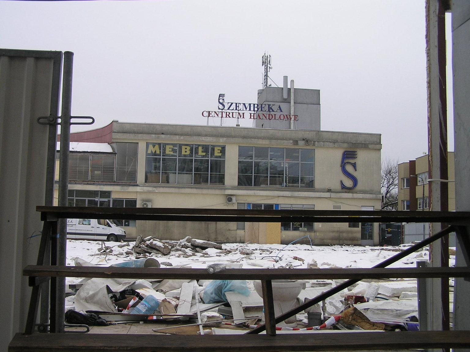 Przebudowa targowiska CH Szembeka