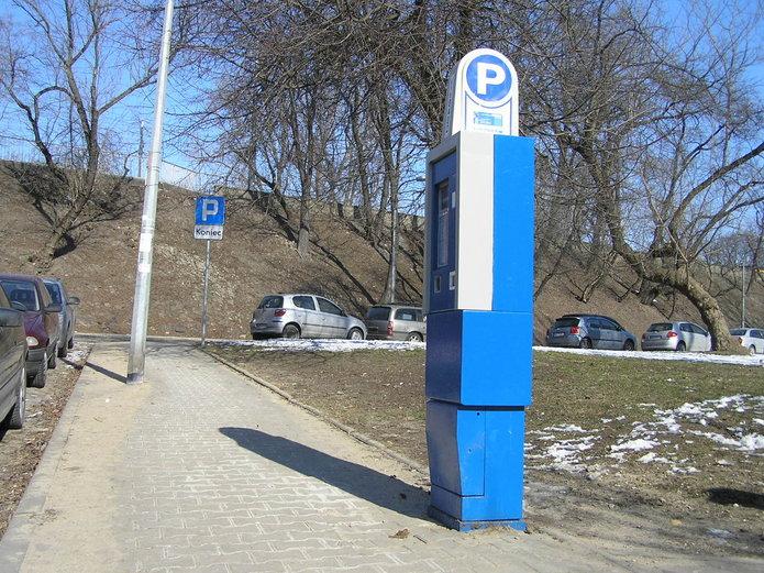 Strefa płatnego parkowania na Pradze