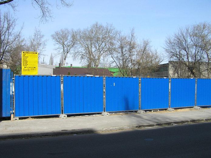 Ulica Skaryszewska - budowa budynku biorowego