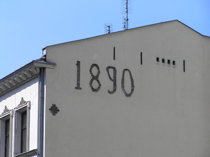 Ząbkowska 5 zdatą 1890