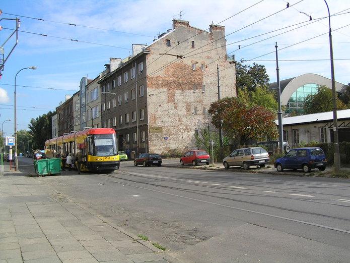 Ulica Kawęczyńska przed modernizacją