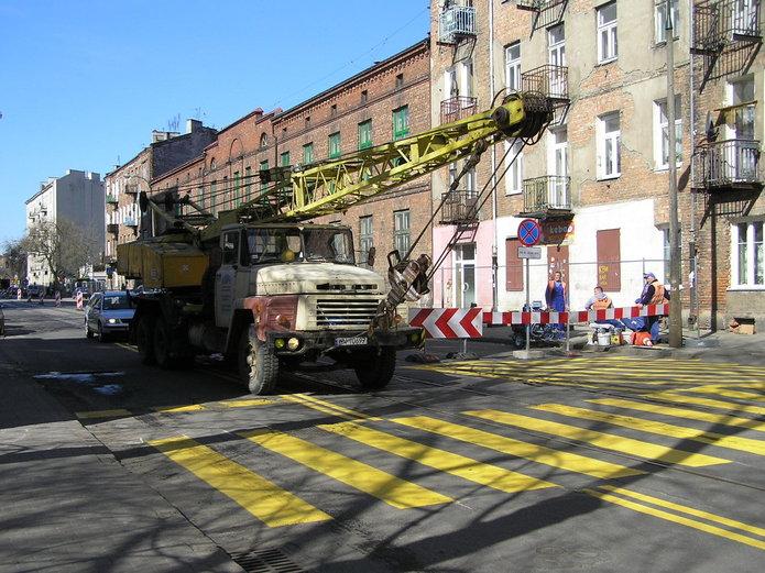 Przebudowa ulicy Kawęczyńskiej