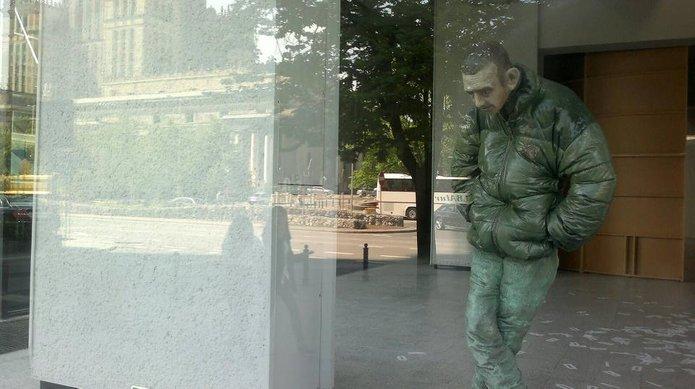 Guma za szybą zMuzeum, fot. Kamil Ciepieńko