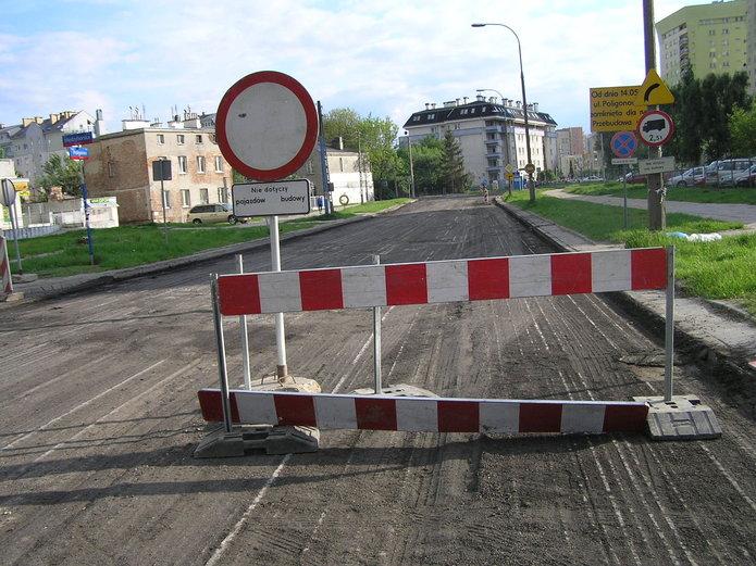 Przebudowa ulicy Poligonowej