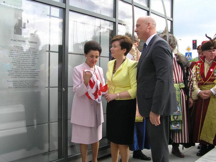Otwarcie Placu Szembeka