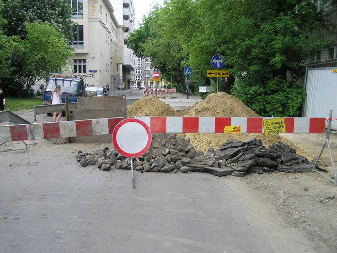 Utrudnienie na Gocławskiej