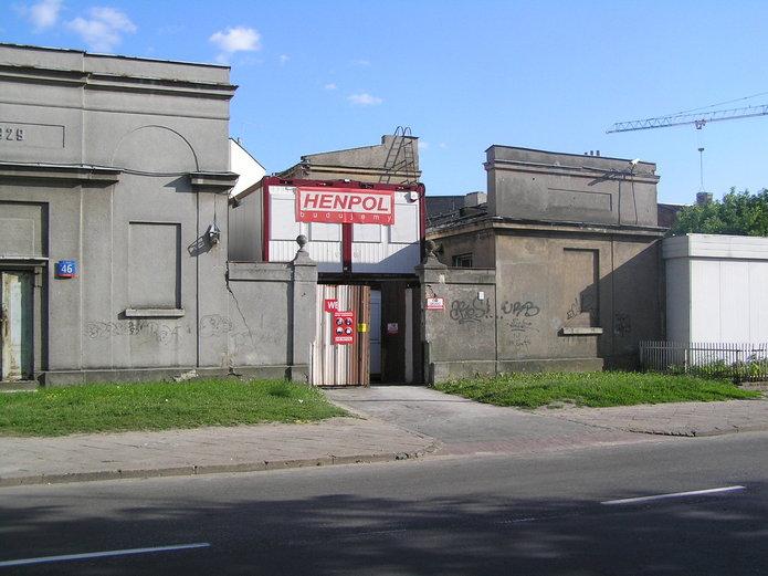 Stacja trafo na Mińskiej