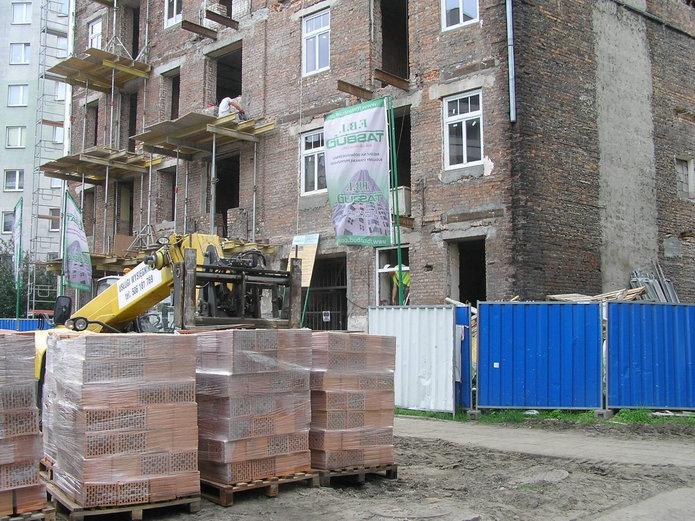 Lubelska 23 wtrakcie przebudowy