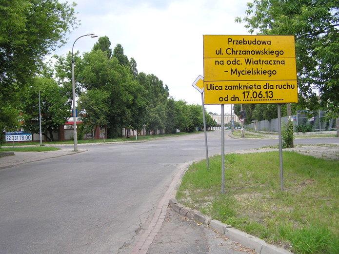Rusza przebudowa ulicy Chrzenowskiego