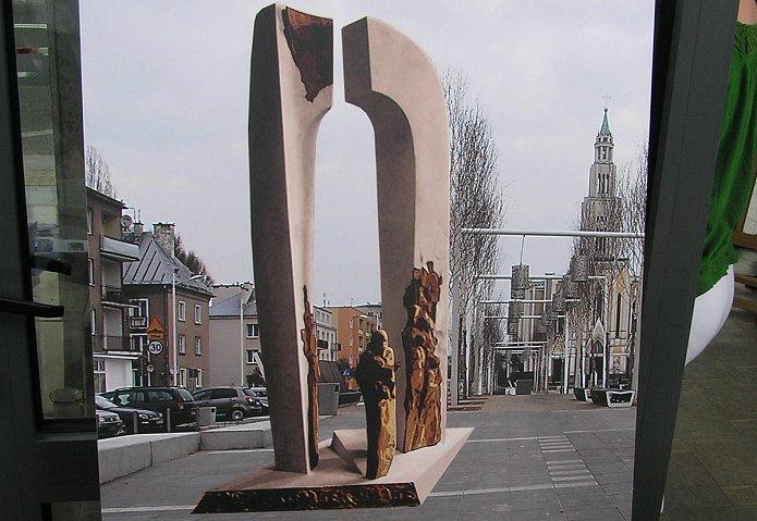 Wizualizacja pomnika Piotra Szembeka