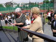 Otwarcie nowa hala sportowej na Naddnieprzańskiej