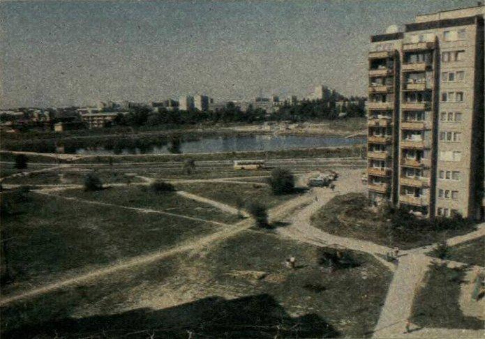 Jeziorko Balaton w1989 roku
