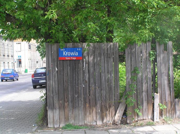 Ulica Krowia wWarszawie