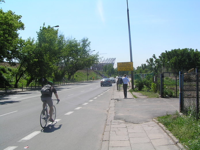 Ulica Sokola w2011 roku