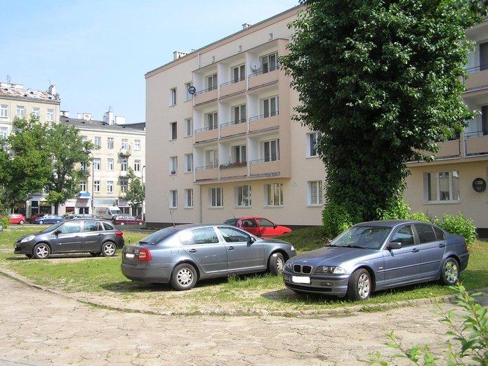 Teren posesji Wileńska 6 i6A
