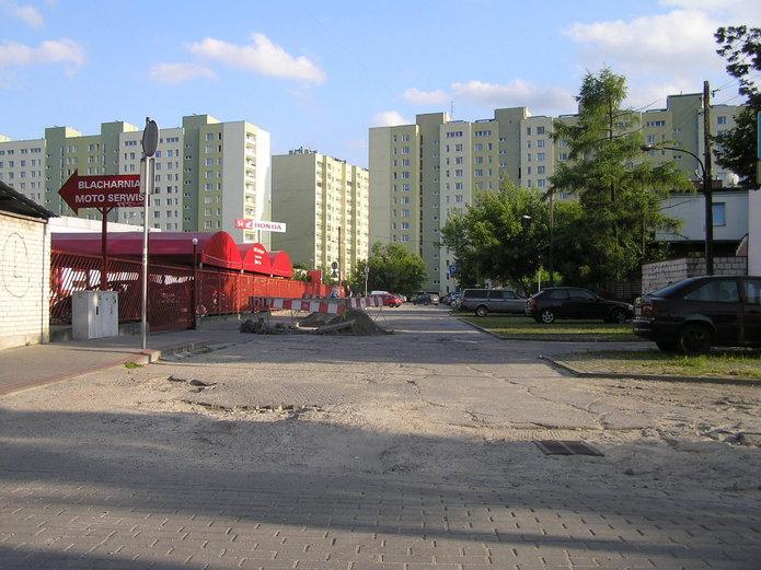 Ulica Witolińska wWarszawie