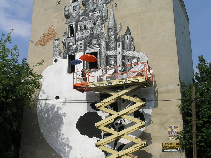 Nowy Mural na Mińskiej 12