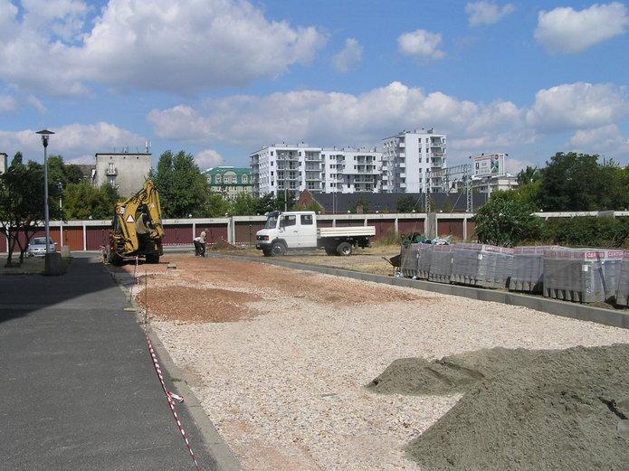Nowy parking przy Białostockiej 5