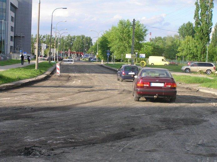 Trwa przebudowa ulicy Poligonowej