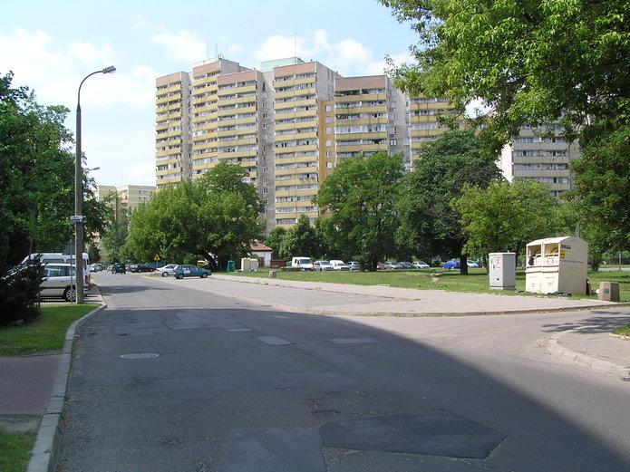Nawierzchnia ulicy Majańskiej