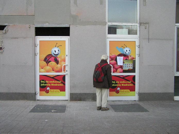 Market Biedronka na Kordeckiego 56/58