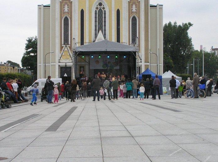 Południowo praskie Prezentacje na Placu Szembeka