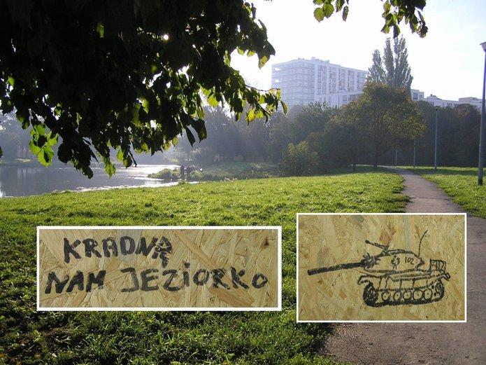 Tereny przy jeziorku Gocławskim zostaną zabudowane