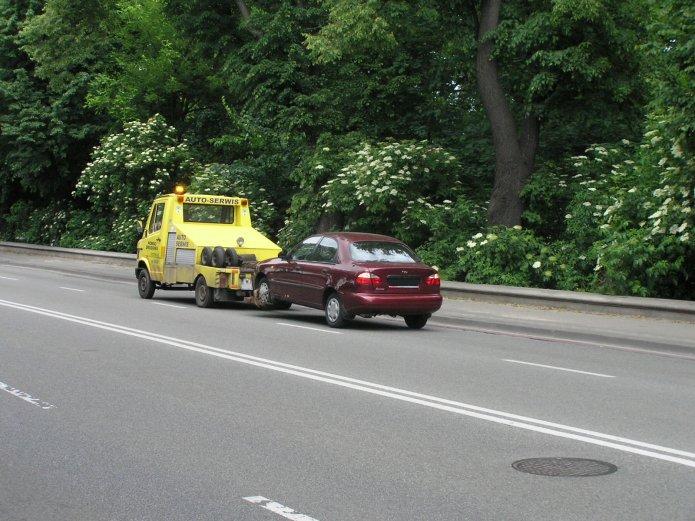 Odholowywamy samochód wtrakcie Euro 2012