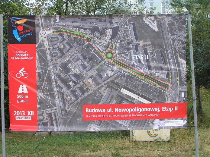 Budowa ulicy Poligonowej