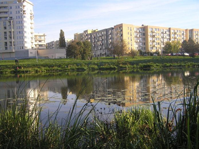 Sesja ojeziorku Gocławskim