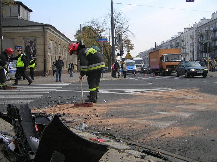 Skrzyżowanie Grochowskiej iTerespolskiej jest wyjątkowo niebezpieczne