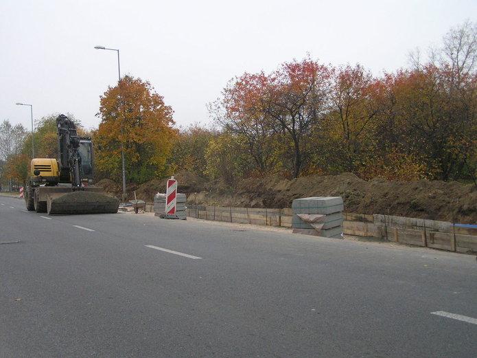 Budowa zatok autobusowanych na ulicy Jana Nowaka-Jeziorańskiego
