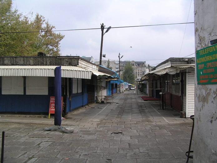 Niepewny los Bazaru Różyckiego